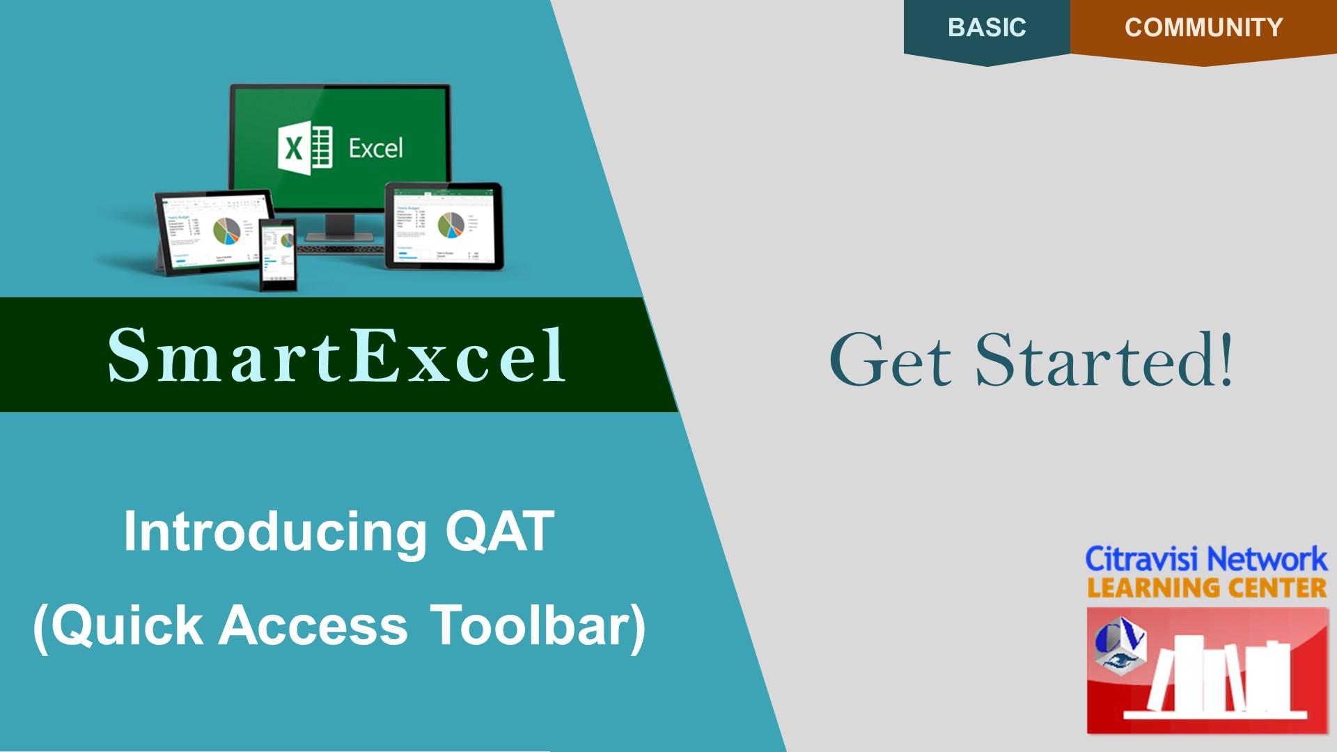 MSXL16-1B0201, Quick Access Toolbar
